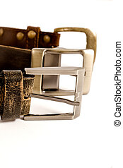 buckles on isolated background
