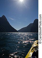 Kayak Adventure - Milford Sound, New Zealand - Kayak Tour