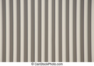 Conceptual background corrugated steel asbestos - Closeup...