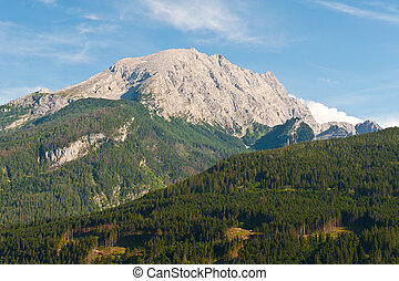 Treeless Peak of the Bavarian Alps, Germany