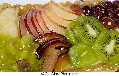 nutritivo, frutas