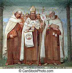 Carmelite Saints - Saint John of the Cross, Peter Thomas and...