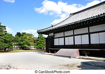 Nijo Castle was built in 1603 as the Kyoto, Japan - Nijo...