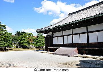 Nijo Castle was built in 1603 as the Kyoto, Japan - Nijo...