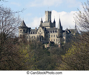 Marienburg Castle - the Marienburg Castle in Lower Saxony...