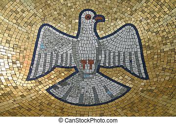 santo, espíritu, pájaro