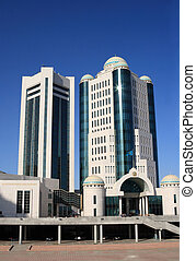 Astana - Modern office building, Astana, capital of...