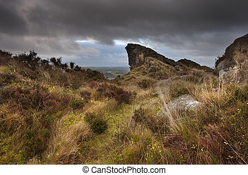 Ramshaw Rocks Peak District National Park Derbyshire