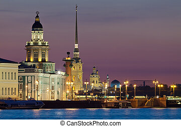 The iconic view of St Petersburg White Nights - The iconic...
