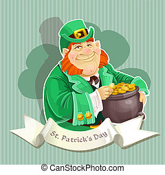 Leprechauns guard the pot of gold 1 - big fat Leprechauns...