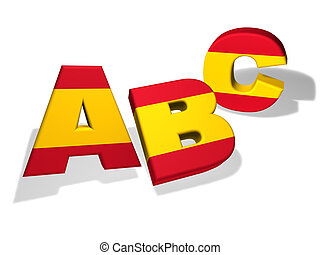 Abc Spanish School Concept - Spanish language school and...