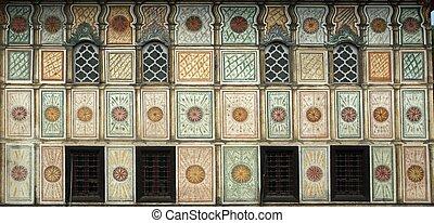 Mosque, Tetovo, Macedonia - Aladza painted mosque, Tetovo,...