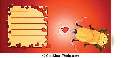 Firefly, licht, Liefde, bol