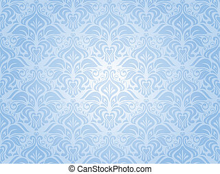 blue invitation background