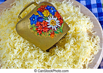 grated cheese of the German Allgaeu