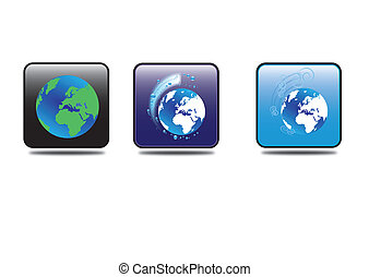 Earth icons