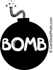 Bomb icon - Creative design of bomb icon