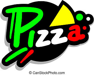 Icon pizza - Creative design of icon pizza