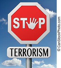 stop terrorism war on terror against terrorist