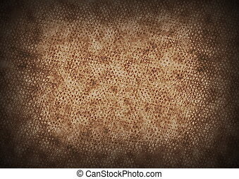 old rusty grid metal background