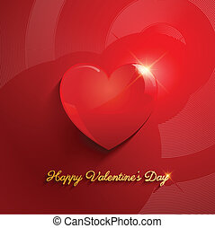 Valentines Day background - Heart background - ideal for...