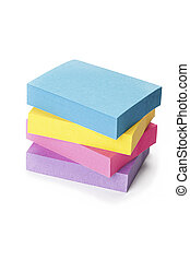 office stationery - Stack of office stationery wth different...