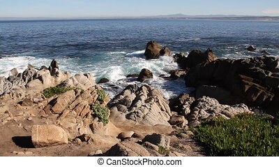 Monterey Bay shoreline