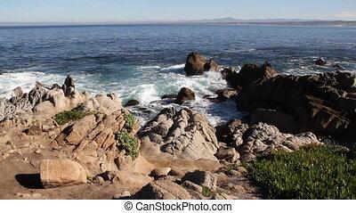 Monterey Bay shoreline