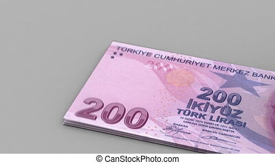 Counting Turkish Lira
