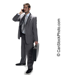 person on a cell phone