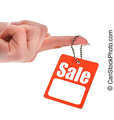 hand holding sale tag - hand holding price tag photo does...