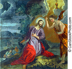 Agony in the Garden - Jesus on the Mount of Olives