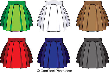 School uniform skirts - Pleated skirts for school uniforms