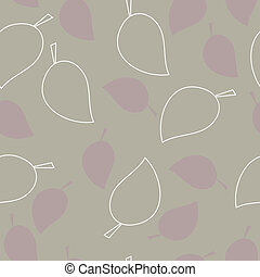 Seamless texture of leaves