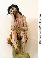 herido, Jesús