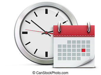 timing concept - Vector illustration of timing concept with...