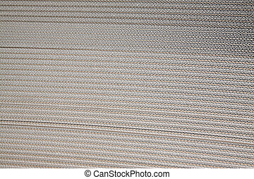 corrugated paper - closeup of corrugated paper