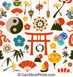 Chinese New Year of the Snake pattern - Chinese New Year of...