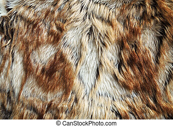 Fur texture of fox