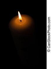 Um, luz, escuridão