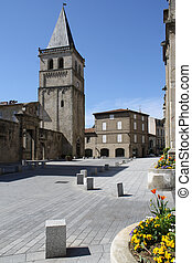 Mayor of Castres - Square of the mayor of Castres, France.