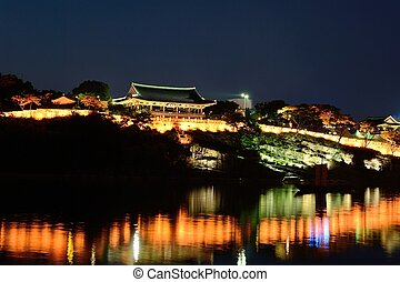 Korean Traditional Castle Building - Traditional Castle...