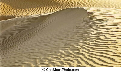 wind move sand on desert dune - 1920x1080 hidef, hdv - wind...