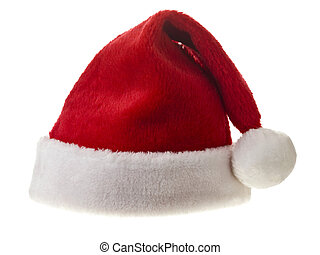 red hat - Red hat isolated in a white background