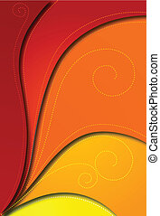 Abstract red background for design. Vector