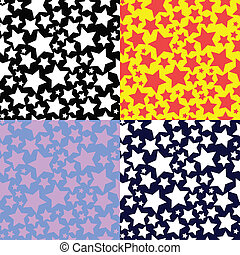 set of patterns with stars