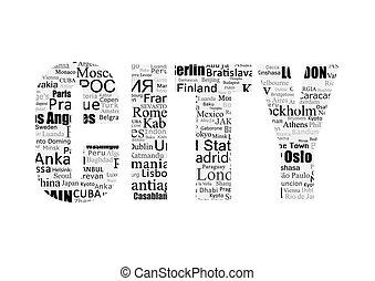 CITY type printing press - Conceptual representation of the...