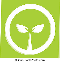 Nature symbol illustration - Nature of symbol green ecology...