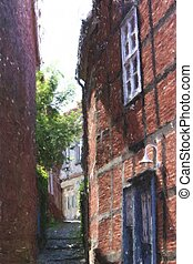 Old Town lane - impression of an Old Town lane in Spain...