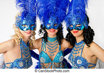 carnival dancers - Beautiful carnival dancers, amazing...